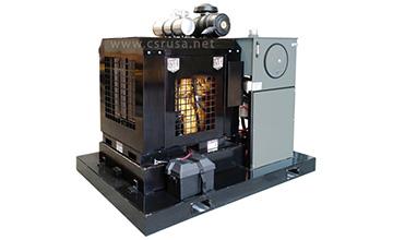 Дизельний гідравлічний силовий агрегат потужністю 127 к. с.