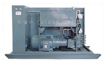 Электрогидравлический силовой агрегат мощностью 50 л. с.