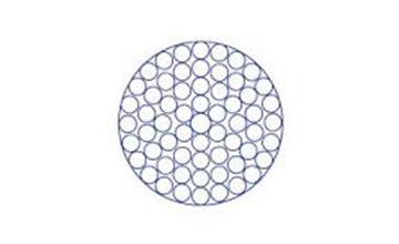 Дротяний канат з круглим пасмом 1×61