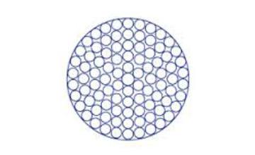 Дротяний канат з круглим пасмом 1×91