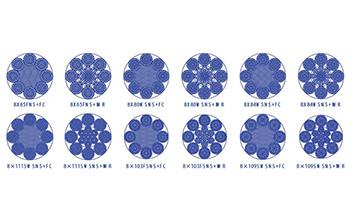 Дротяний канат з круглими пасмами 8×61(ab) і 8×91(ab)