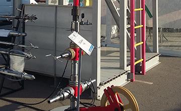 Установки лубрикаторні геофізичні для герметизації гирла свердловини