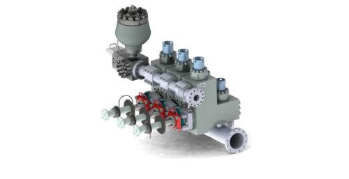 Системы гидравлических частей буровых насосов