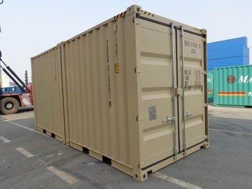 Вантажні та морські контейнери