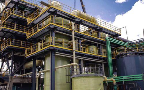 Система для антикорозійного захисту металоконструкцій від впливу агресивної атмосфери