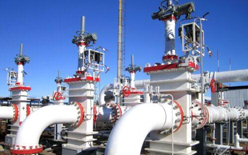 Система покриття для захисту запірної арматури, перильного огородження, естакад на нафтобазах та нафтопереробних заводах