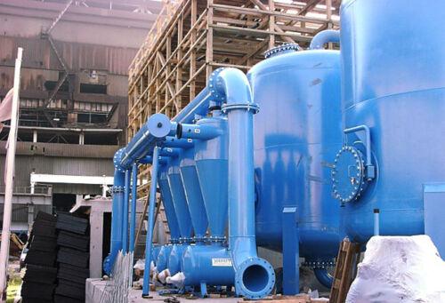 Система защиты резервуаров для подготовки воды